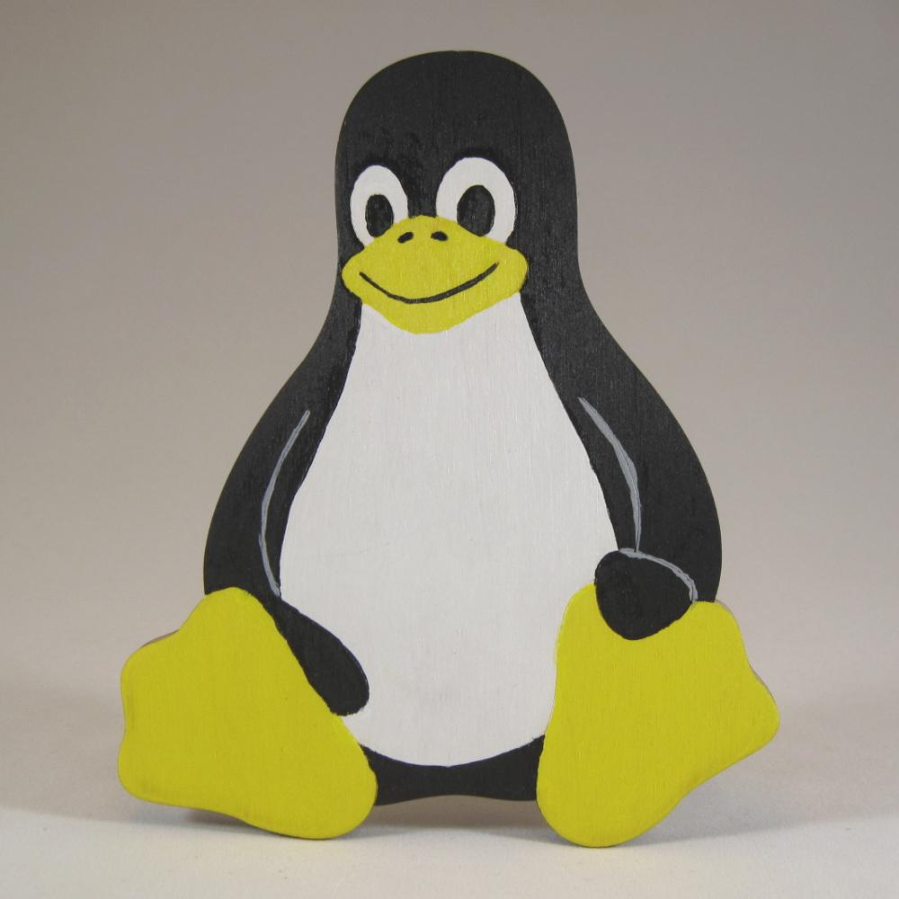 Tux Penguin Cutout Double Cut Designs LLC