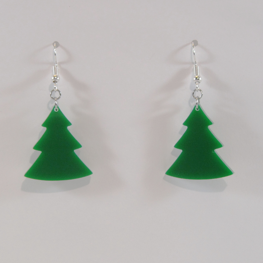 holiday about christmas tree itm free details ship earrings made swarovski jewelry with image crystals loading s is